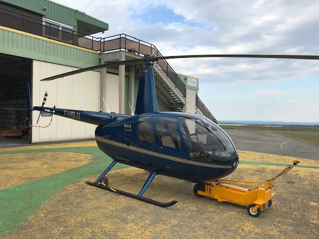 ROBINSON R44 RAVEN II F-HBLU